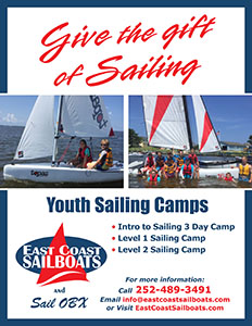 Summer Sailing Camps are posted